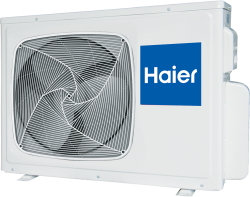 Сплит-система Haier Lightera HSU-12HUN203/R2 внешний блок (ON/OFF)