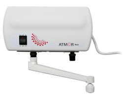 Электрический проточный водонагреватель Atmor Basic 5 KW TAP