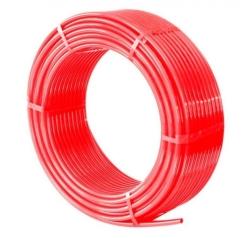 Труба cшит. п/э TIM PE-Xb, диаметр Ø16*2.0(200м) красный