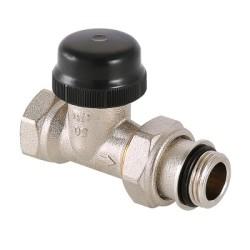 """Клапан термостатический для радиатора прямой с преднастройкой (KV 0,1-0,6) 1/2"""""""