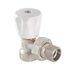 Клапан ручной VALTEC (компактный) для радиатора, угловой