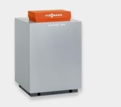 Газовый напольный котел Viessmann Vitogas 100-F 72-140 кВт с чугунным теплообменником