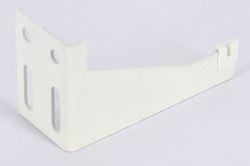 Кронштейн настенный тип K9.3 белый, с пласт. вставкой для радиаторов более 1,6м (тип 10/11)