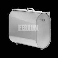 Бак для теплообменника горизонтальный эллипс Ferrum
