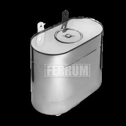 Бак вертикальный эллипс Ferrum
