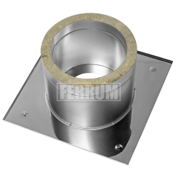 Потолочно проходной узел (430/0,5 мм +термо) max t=450° C Ф115
