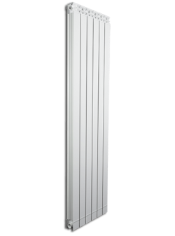 Дизайнерские алюминиевые радиаторы Fondital GARDA DUAL 80 ALETERNUM  1600 (5 сек)