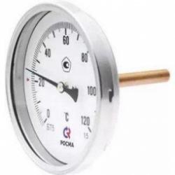 "Термометр БТ-31 Dy63 с задн. подкл., 1/2"" 0-120"