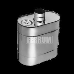 Бак эллиптический Ferrum с трубой 60 л.