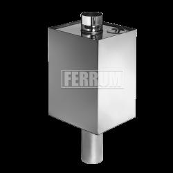 Бак прямоугольный Ferrum на трубе 55 л.
