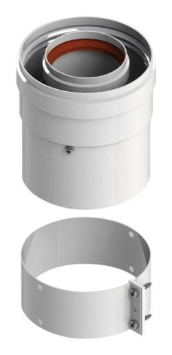 B-001 Вертикальный адаптер Termica (D60/100mm) 0,1м Baxi, Ariston, Vaillant, Arderia, Mora
