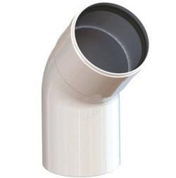 TAU845 Колено 45* D80mm п/м Termica