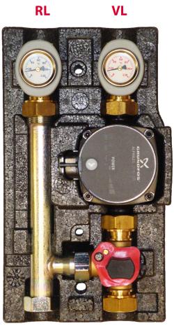 Насосно-смесительный модуль Huch EnTEC ECO МК DN 20