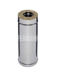 Дымоходы-сэндвичи Ferrum из нержавеющей стали 0,5 м (0,5 мм)